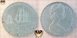 2 1/2 Dollars, 1973, Cook Islands, James  Vorschaubild