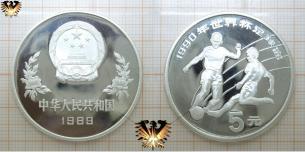 Tackling, 5 Juan, China 1989, WM, Italien  Vorschaubild