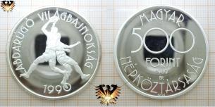 Ungarn, 500 Forint, WM 1990 in Italien,  Vorschaubild