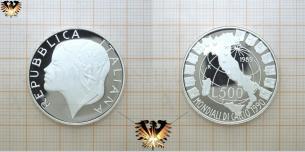 Nike, WM-Pokal, L 500, Silbermünze, Fußball WM,  Vorschaubild