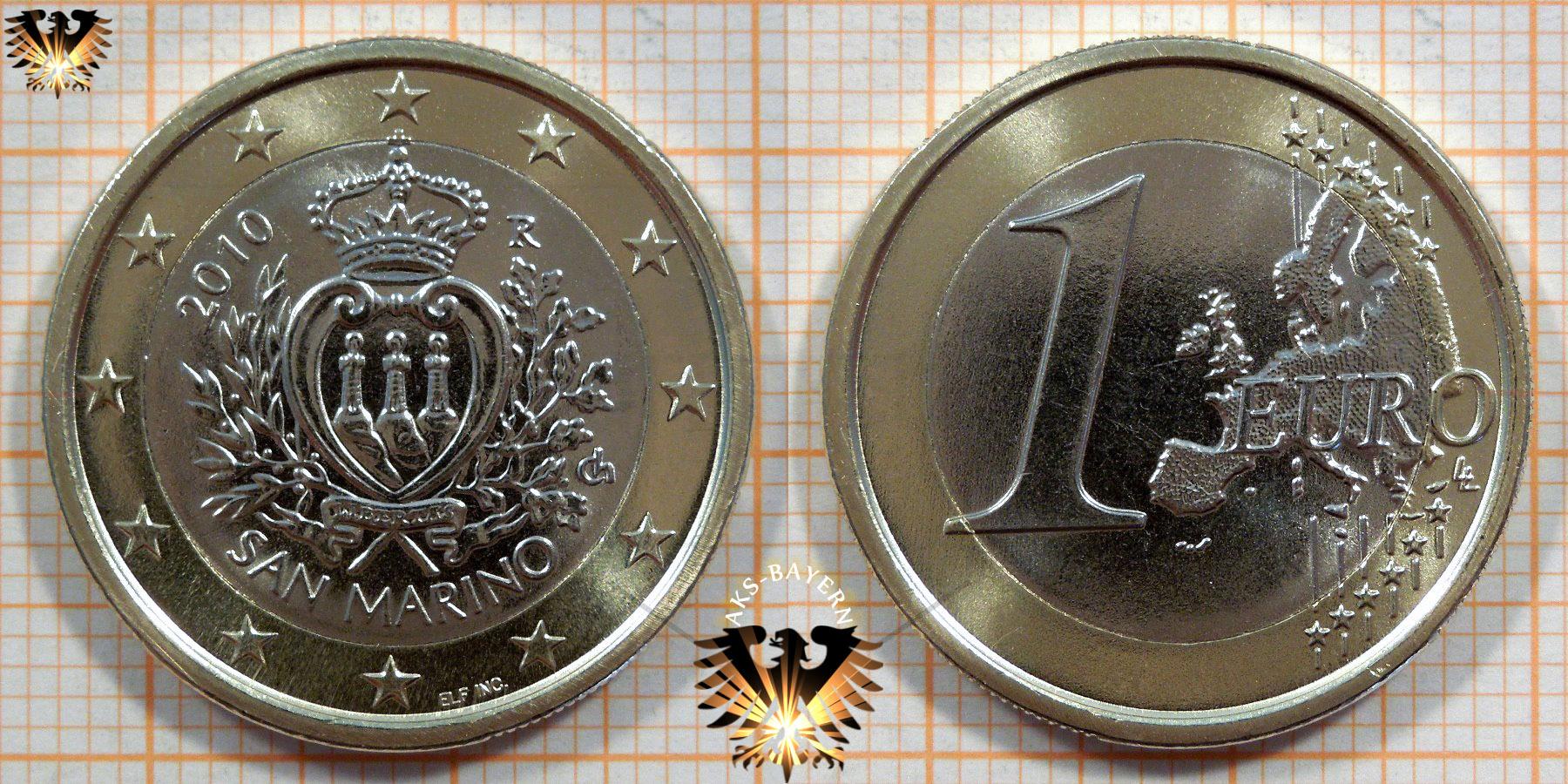 1 Euro San Marino 2010 Nominal