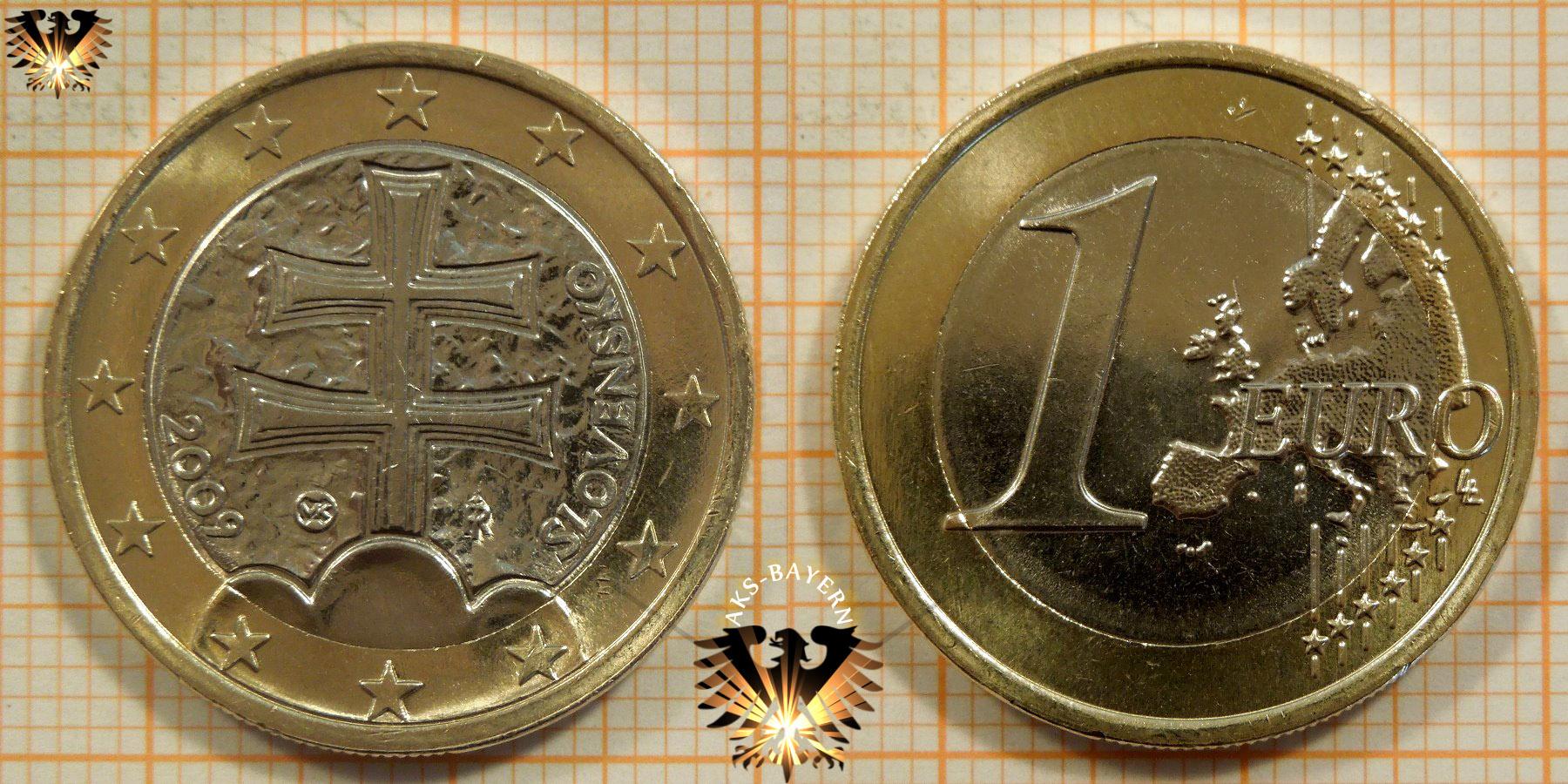 1 Euro Slowakei 2009 Nominal