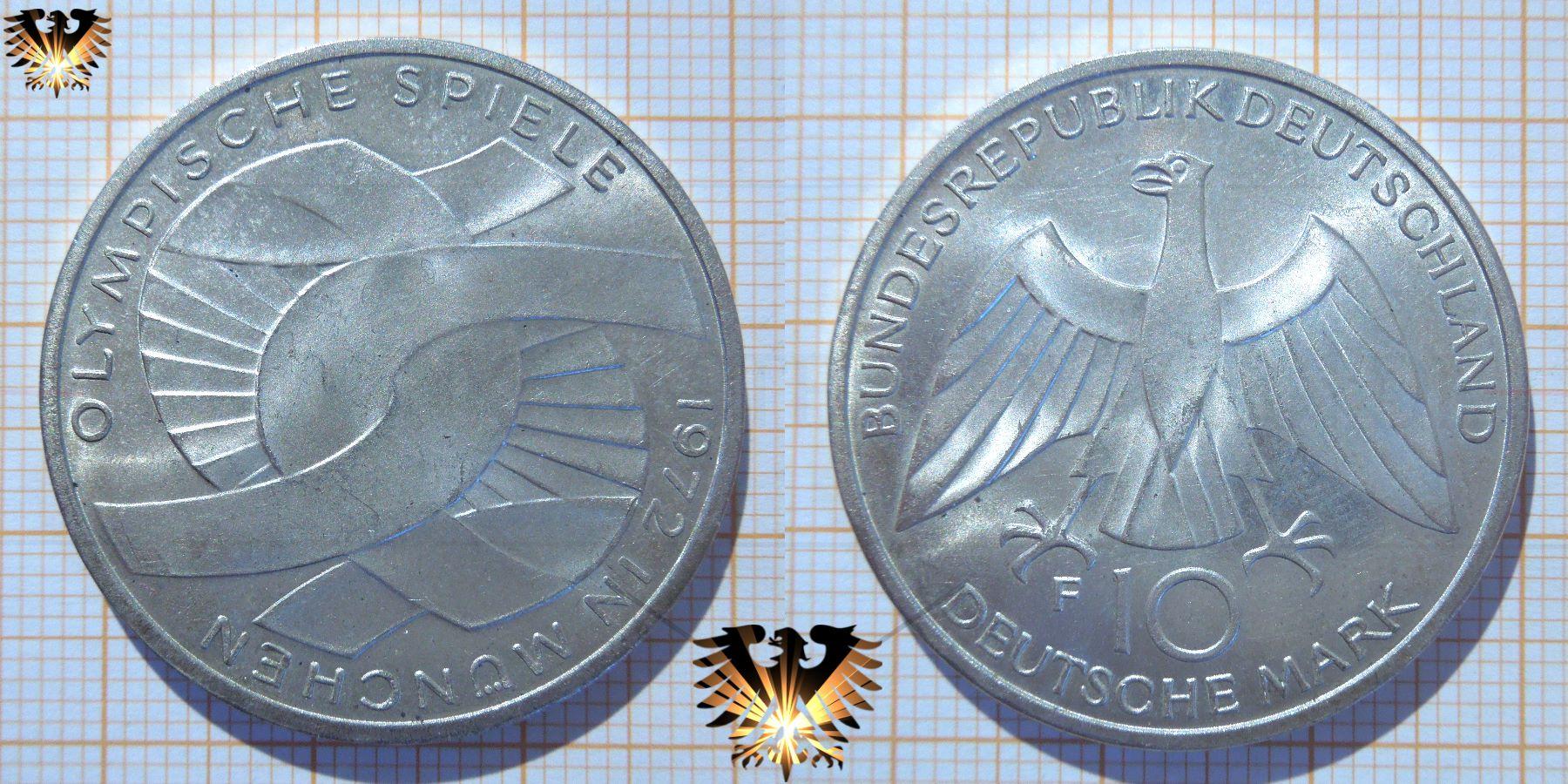 sondermünzen olympiade münchen 1972