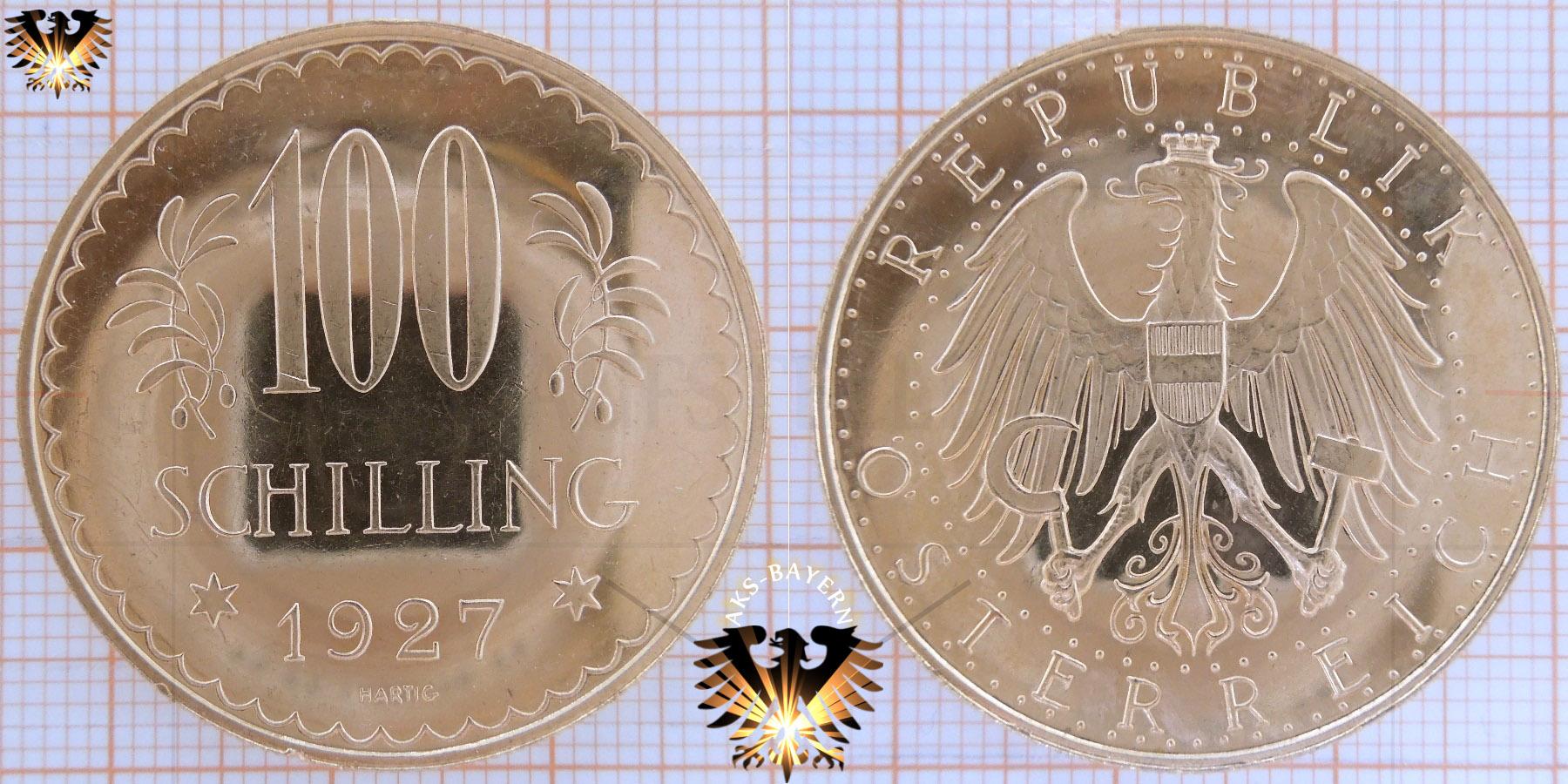 Republik österreich 100 Schilling Münze Wert Foroculturalazcapotzalco