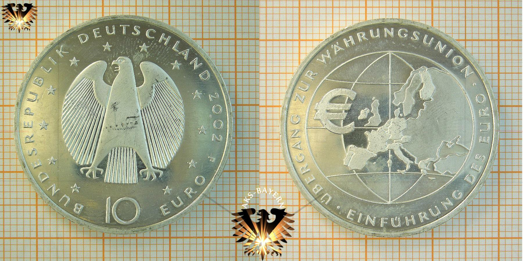 10 Brd 2002 F übergang Zur Währungsunion Einführung Des Euro