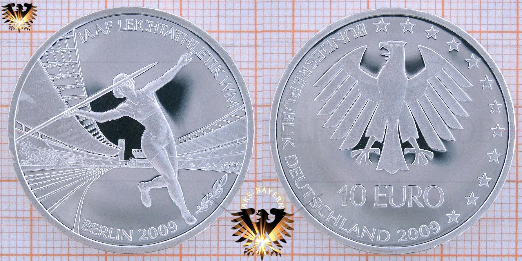 10 Brd 2009 Iaaf Leichtathletik Wm Berlin Mit Decodierhilfe