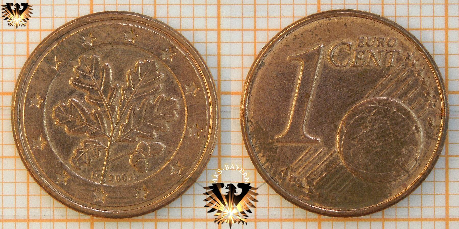 1 Cent Brd 2002 D Nominal Eurocent