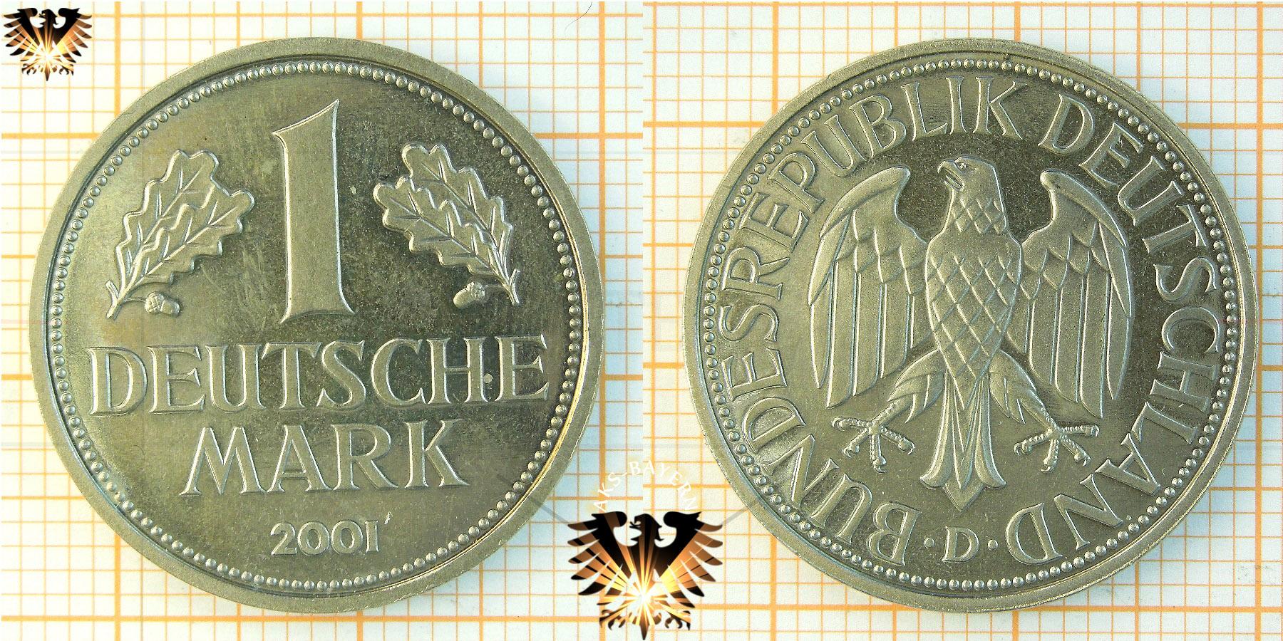1 Dm Münze Brd Nominal 1950 Bis 2001