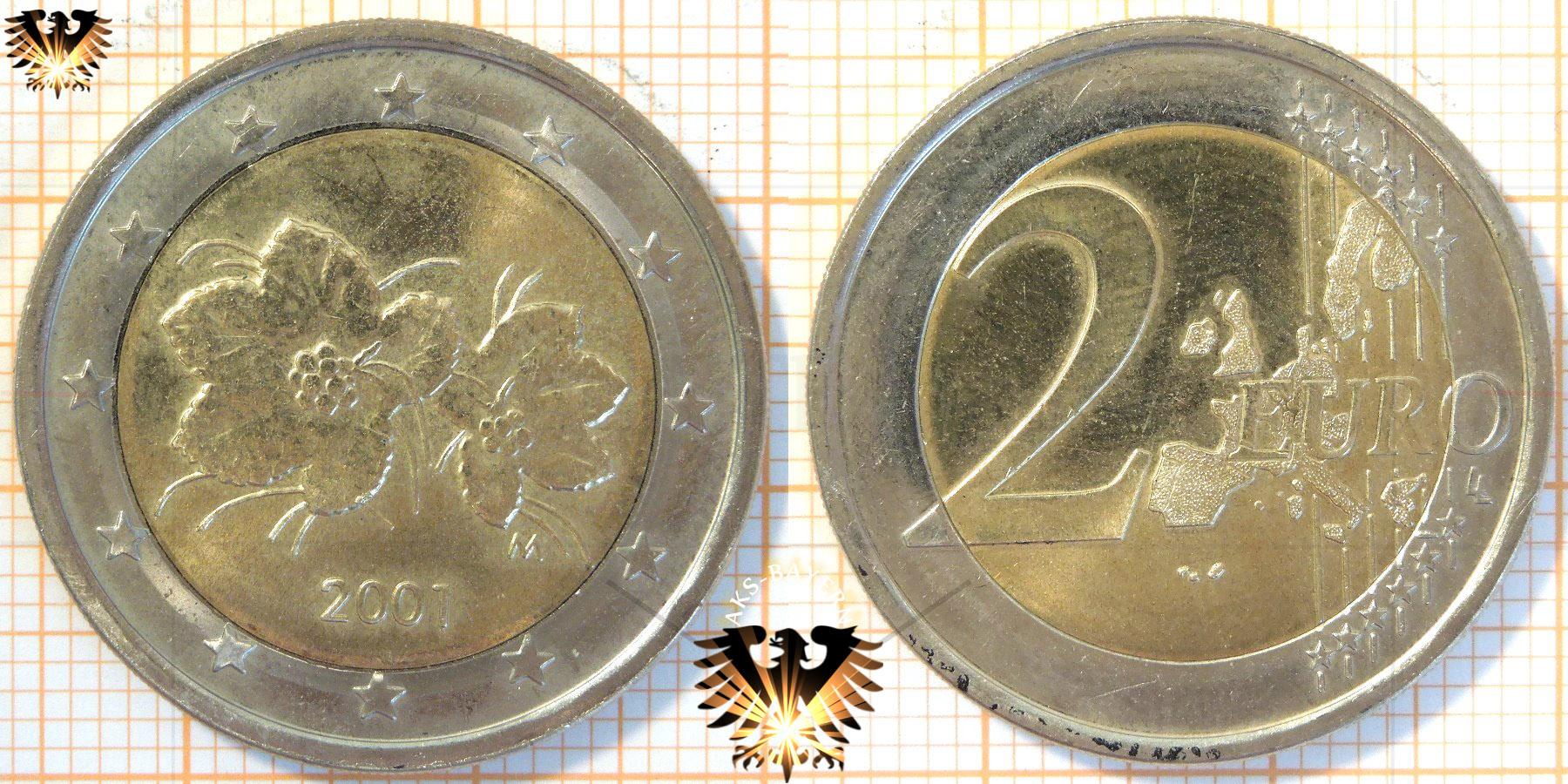 2 Euro Finnland 2001