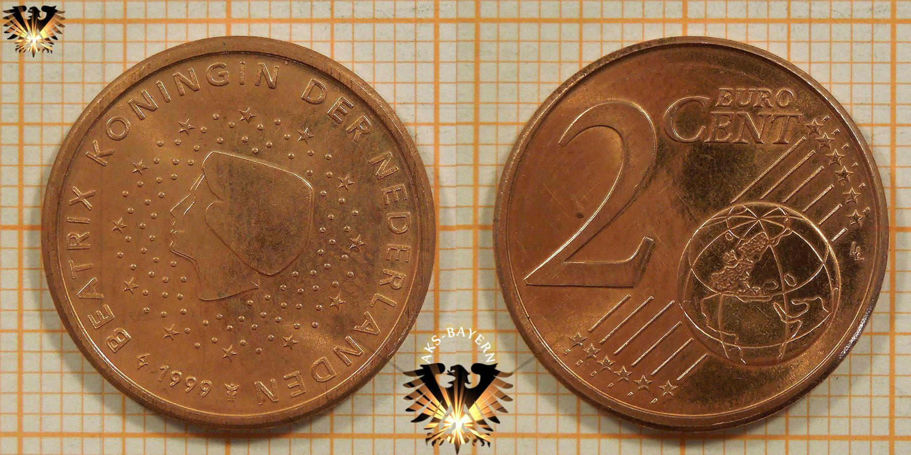 2 euro cent niederlande 1999 nominal. Black Bedroom Furniture Sets. Home Design Ideas