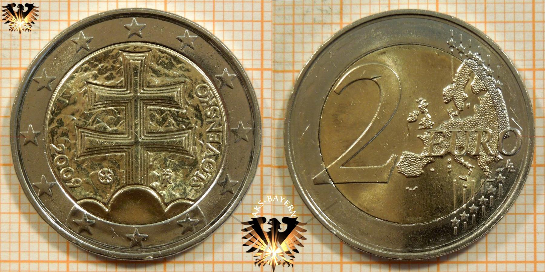 2 Euro Slowakei 2009 Nominal