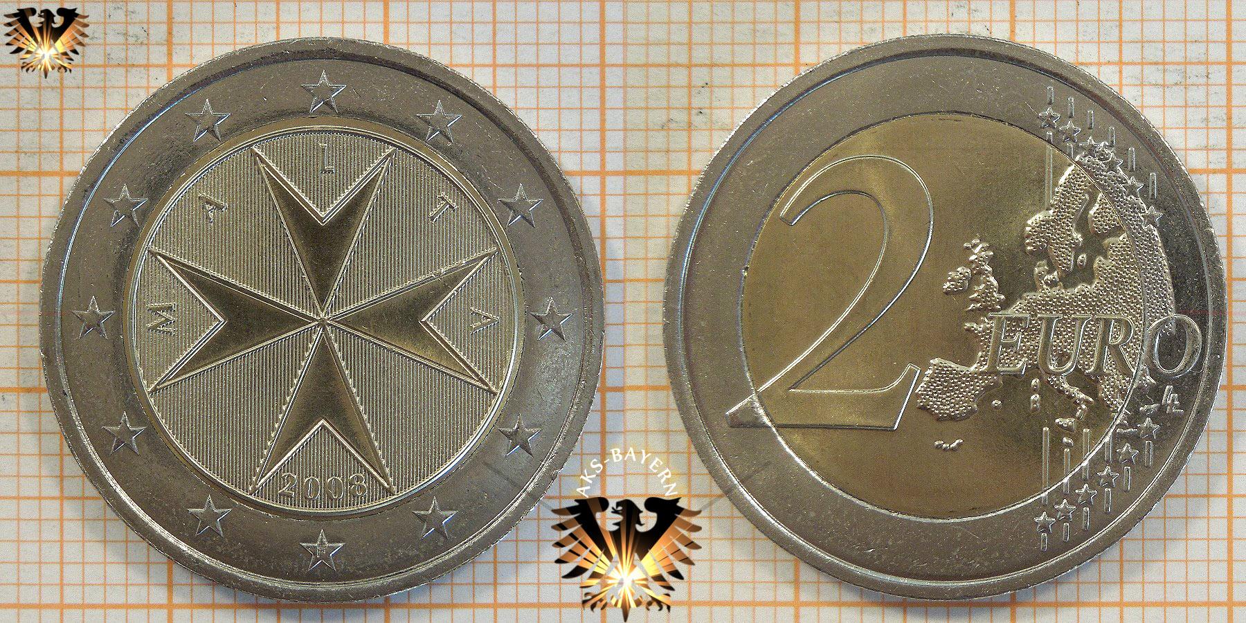 2 Euro Malta 2008 Nominal
