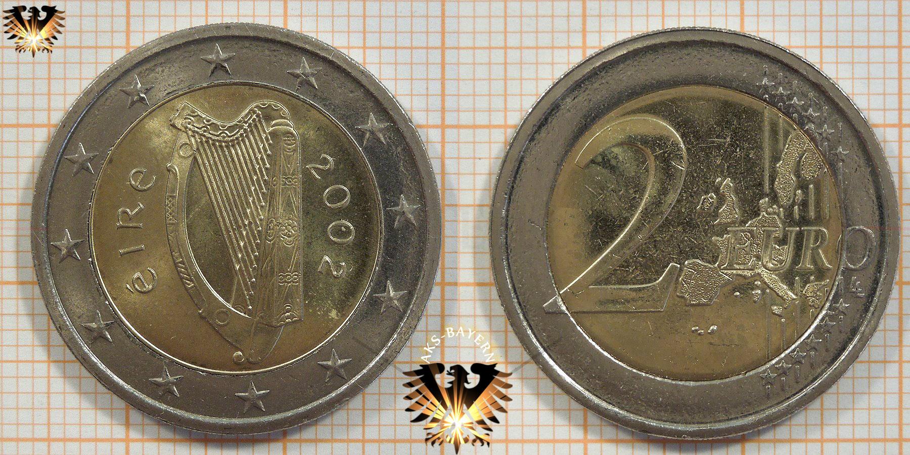 2 Euro Irland 2002 Nominal