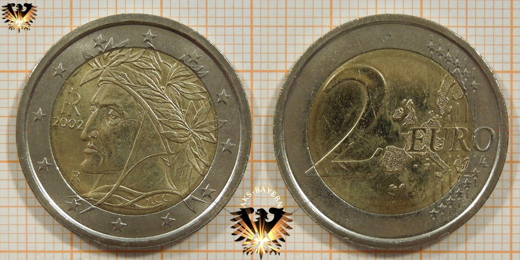 2 Euro Italien 2002 Nominal