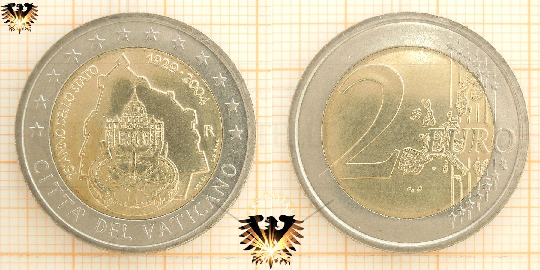 Vatikan Vatican Euro Sondermünzen Münzkatalog Vatikanstadt