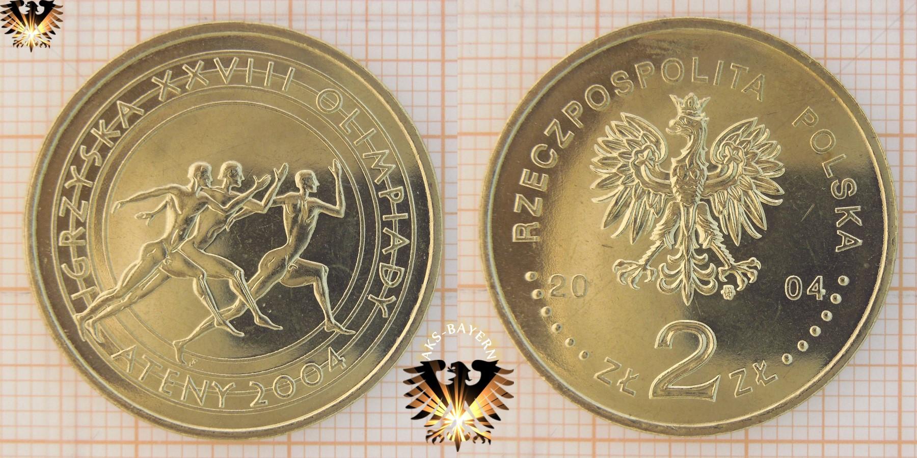 Münzkatalog Polen Poland Sammlermünzen Umlaufmünzen Und