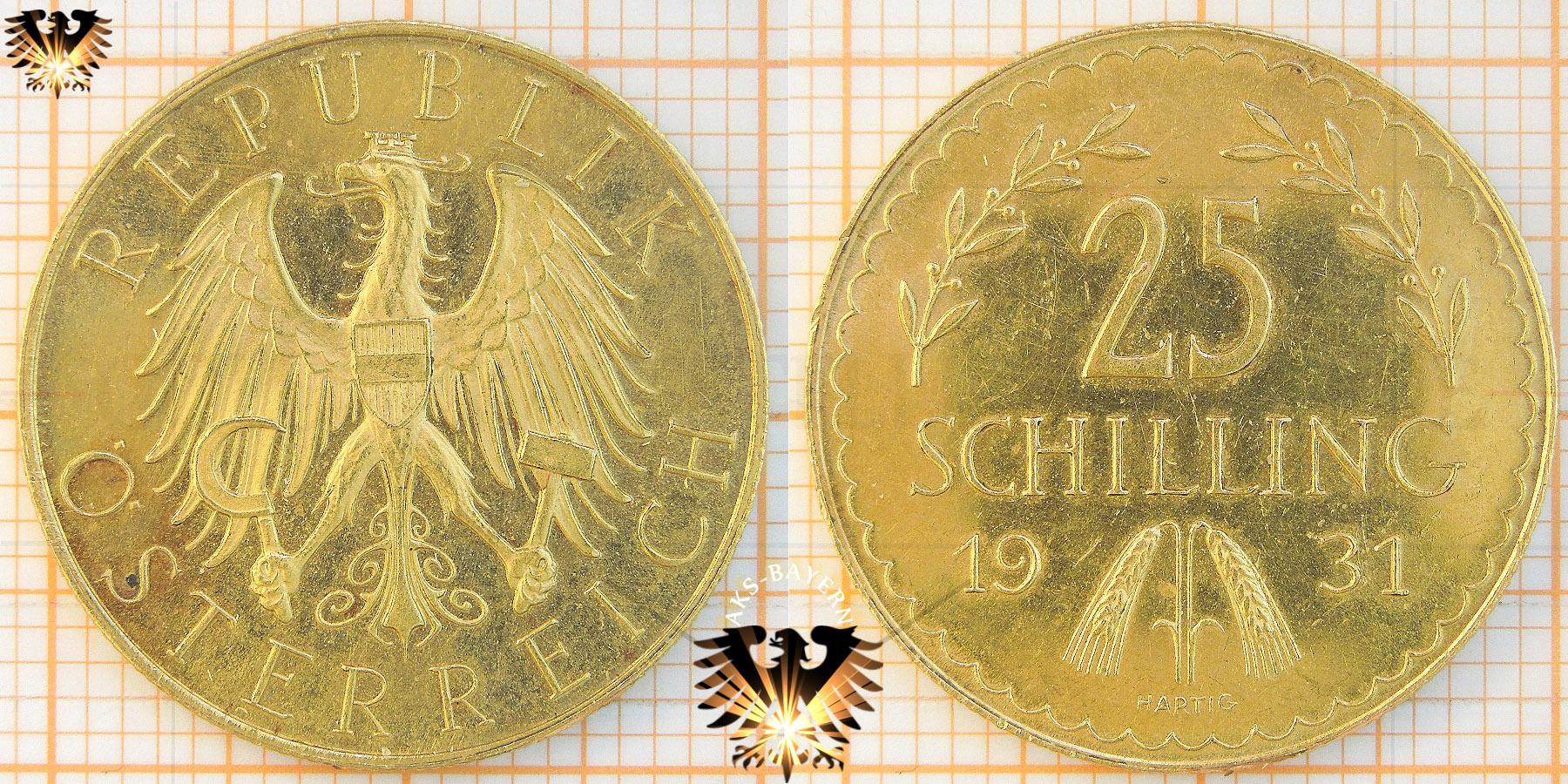 25 Schilling 1960 Kärntner Volksabstimmung 1920 Silbermünze
