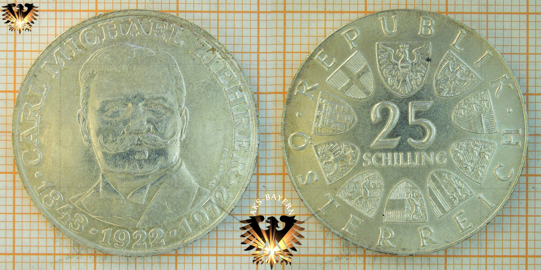 Ii Republik österreich Münzkatalog Goldmünzen Silbermünzen