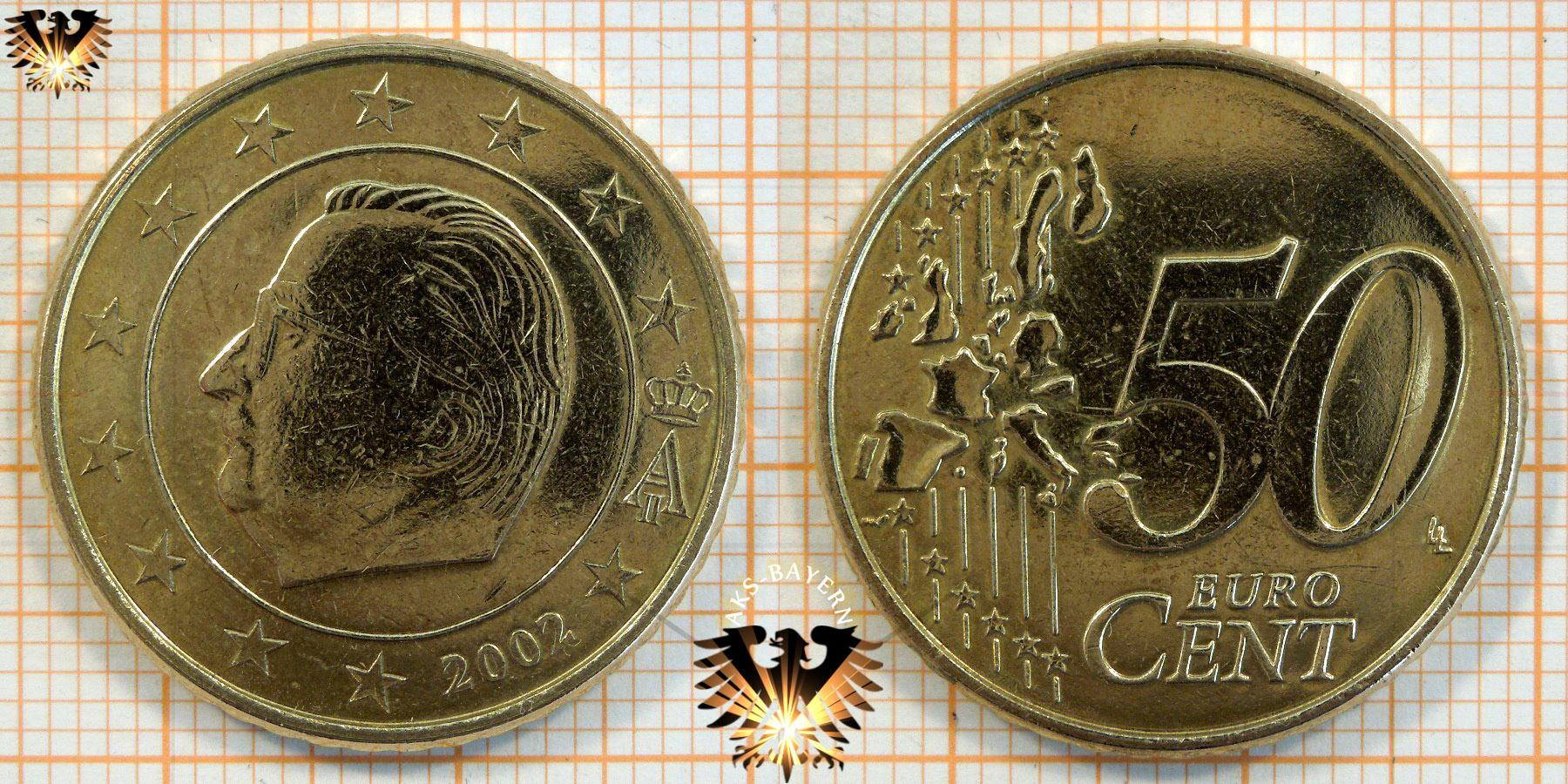 1 Euro Belgien 1999 Nominal Kursmünze König Albert Ii