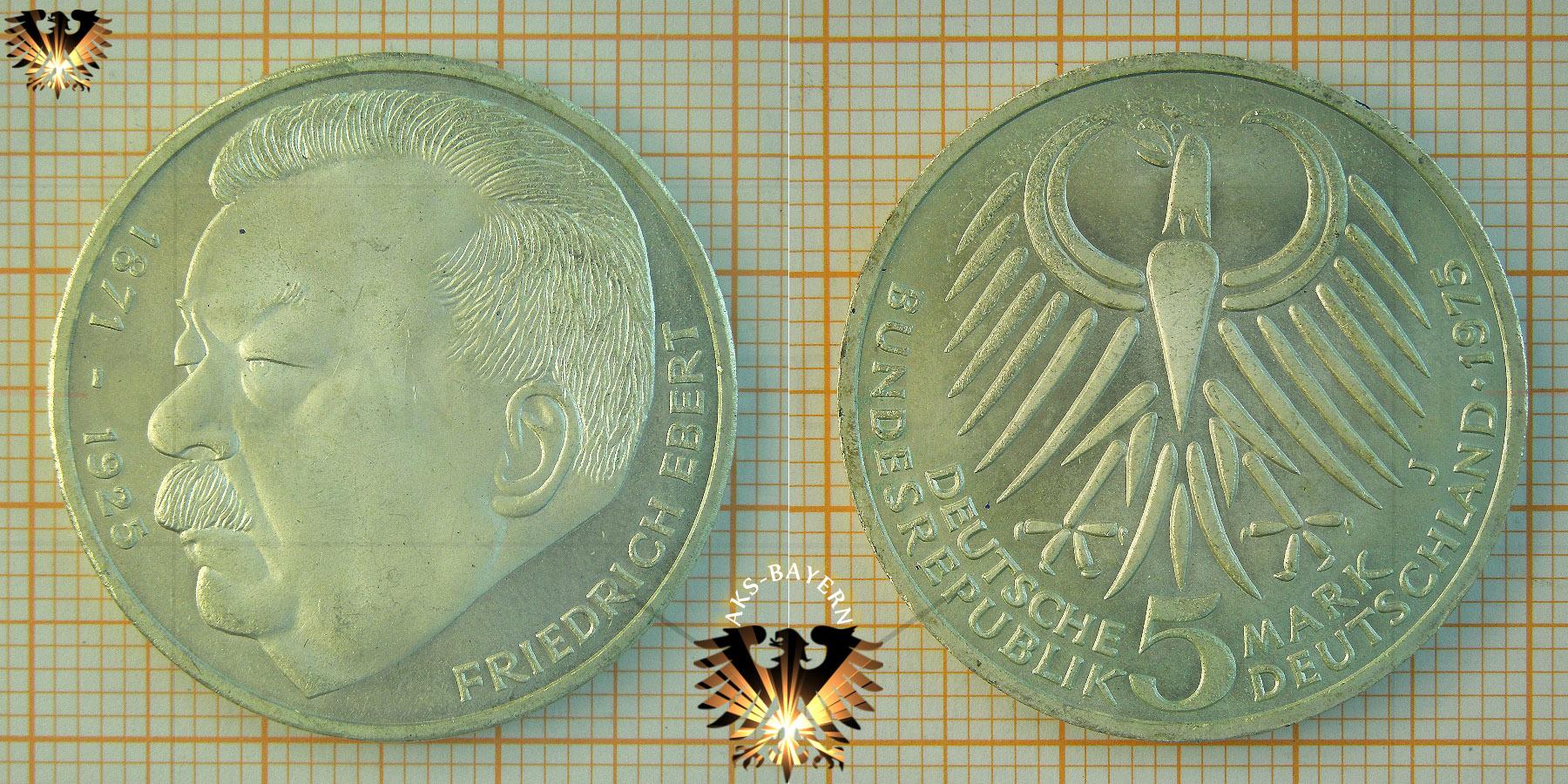 5 Dm Brd 1975 F Europäisches Denkmalschutzjahr 1975 Gedenkmünze