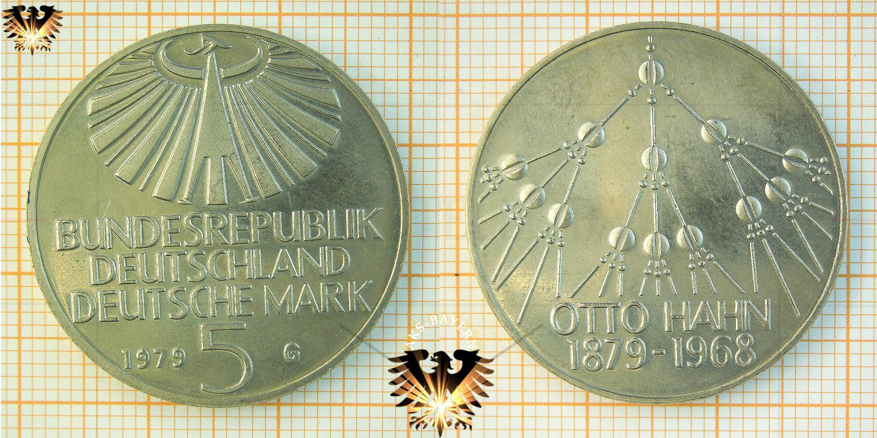 5 Dm Brd 1979 J 150 Jahre Deutsches Archäologisches Institut 1829