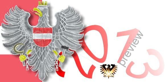 Ausgabeplan österreichischer Gedenkmünzen für das Jahr 2013 © goldankaufstelle-bayern.de