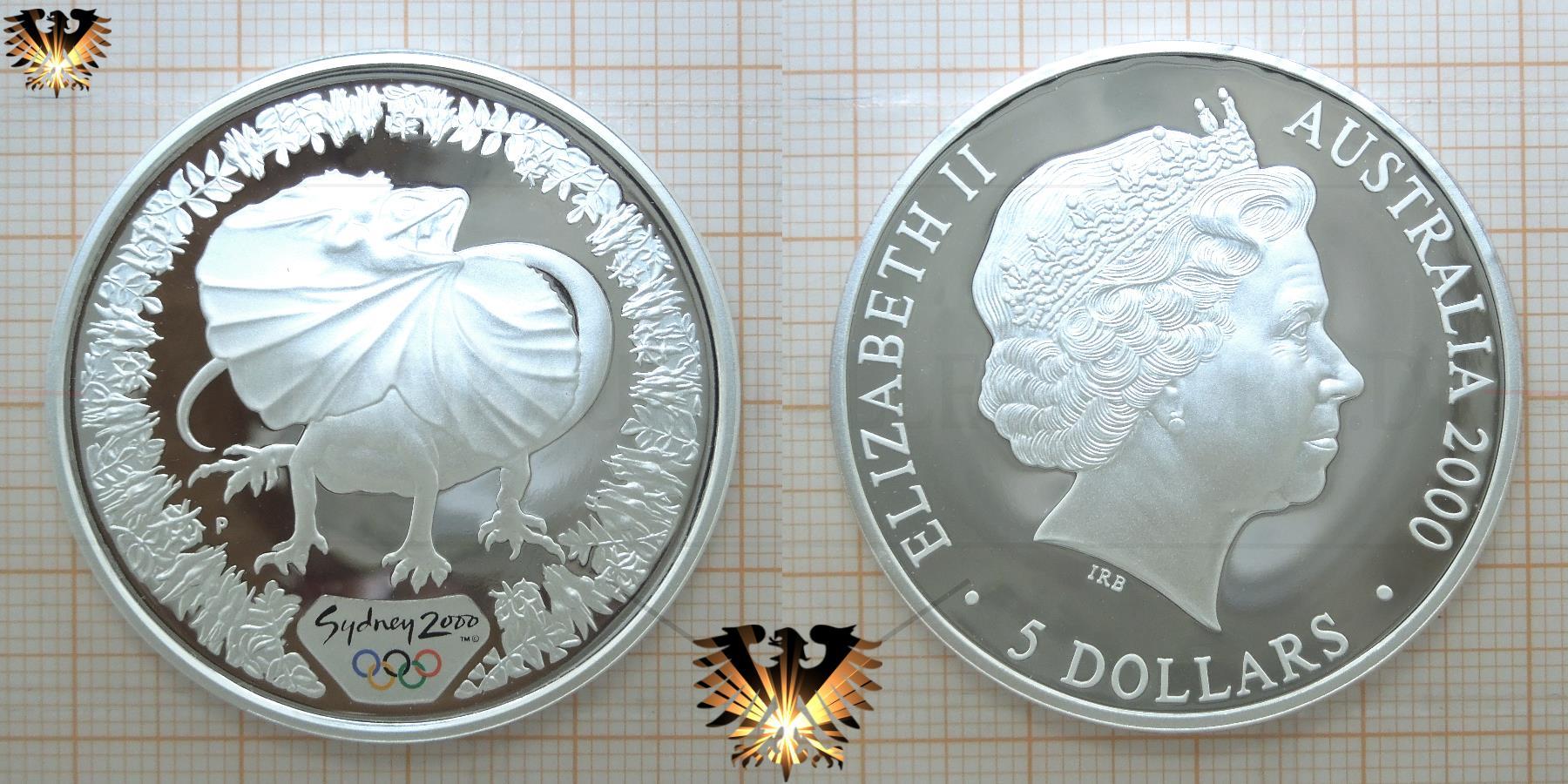 100 Aud Australien Dollars Zur Olympiade 2000 In Sydney Wertvolle