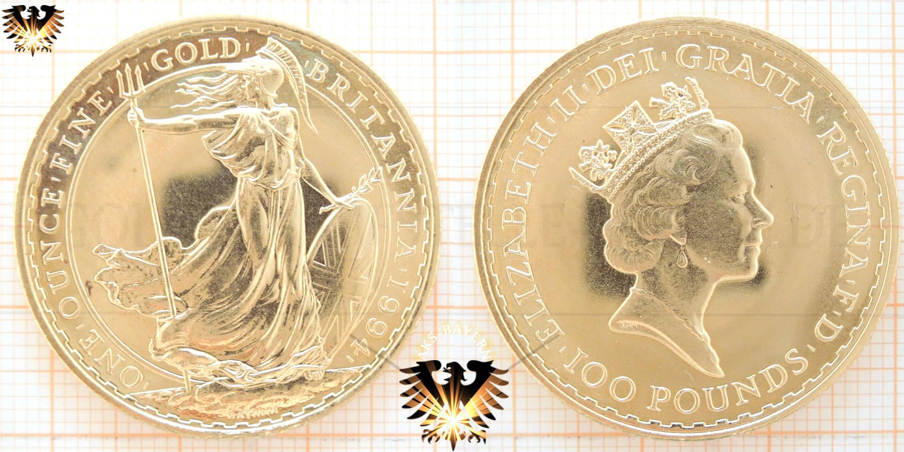Sovereign Goldmünze England Drachentöter