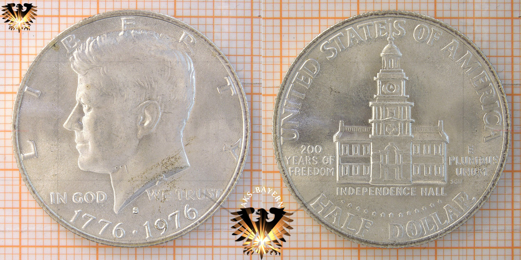 Half Dollar Münze Usa 1972 Kennedy Half Dollar 1965 1975