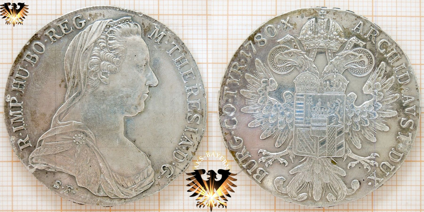 Maria Theresia Taler Silber Wert