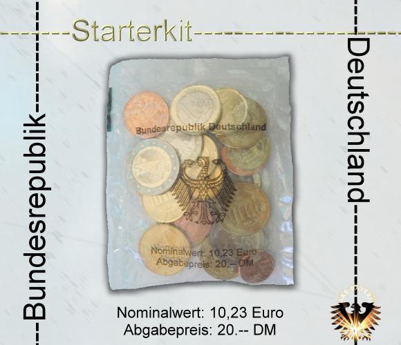Euro Münzen Starterset Bundesrepublik Deutschland 20 Dm 1023