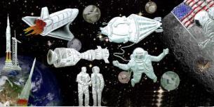Die Eroberung des Weltraums @ AUKAUF. Vorschaubild
